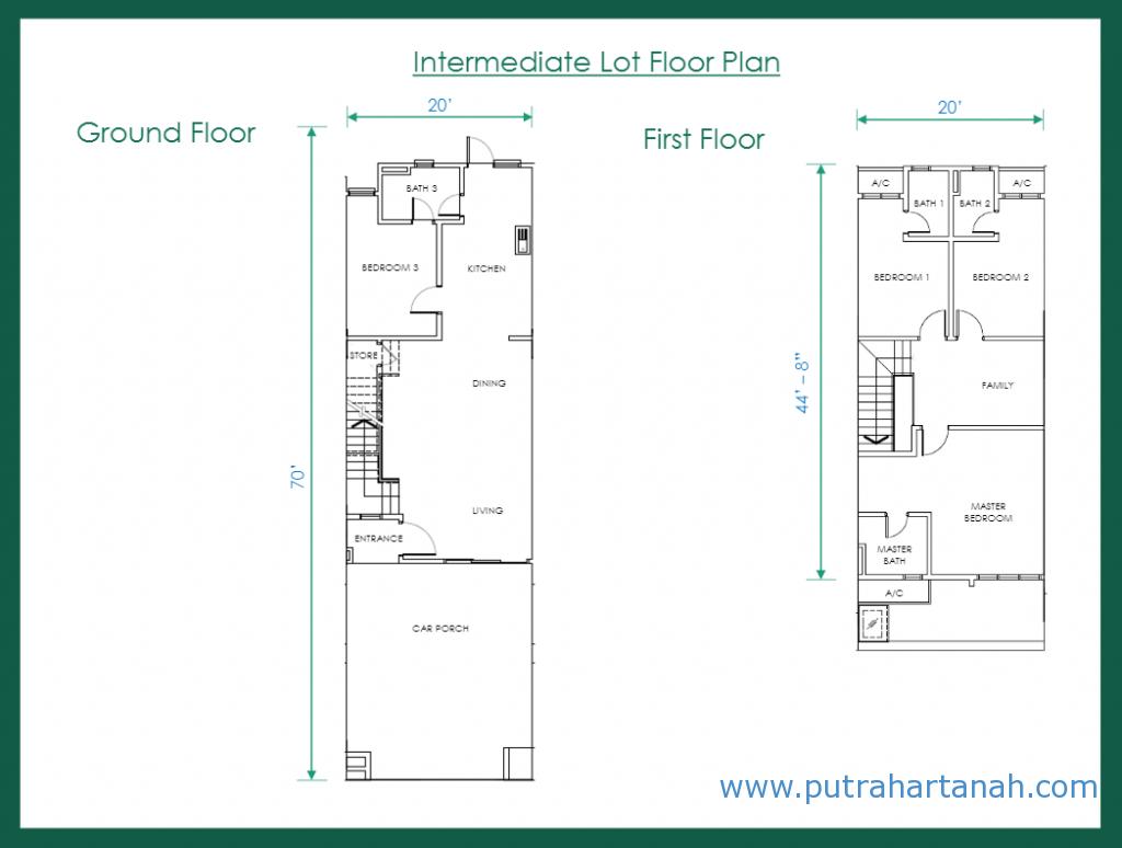 Floor Plan - Salak Perdana - Greenwoods