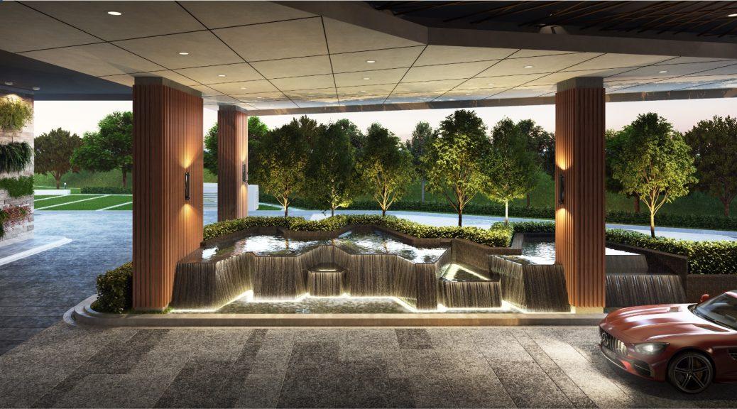 Arrival Water Feature @ Ground Floor