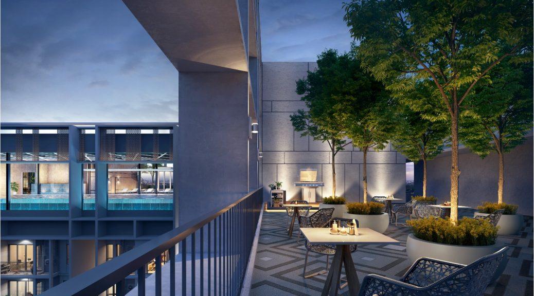 Sky BBQ Deck @ 46th Floor