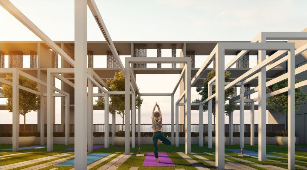 Sky Yoga Deck @ 46th Floor